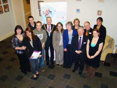Charity Shapes Trustees, the Chairman and the event organisers