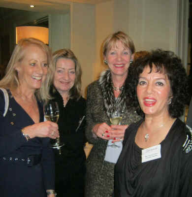 Yvonne Cullum with some guests