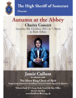 High Sheriff of Somerset's Charity Concert