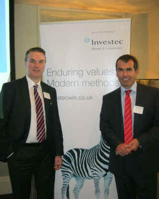 Jim Trafford - Divisional Director at Investec and Marc Cuddihy