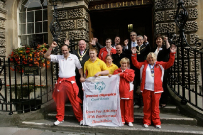 Special Olympics Launch in Bath