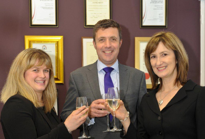Richard Crallan (Solicitor Advocate) Louise Higham (Senior Associate) & Rachel Fisher (Paralegal)