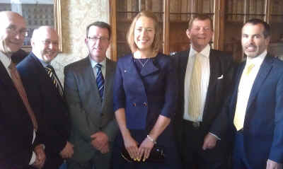 Chairman's Recception fo British Skeleton - Business Guests with Lizzy Yarnold MBE
