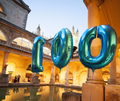 T R Hayes 100th anniversary reception at the Roman Baths